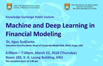 Machine and Deep Learning in Financial Modeling
