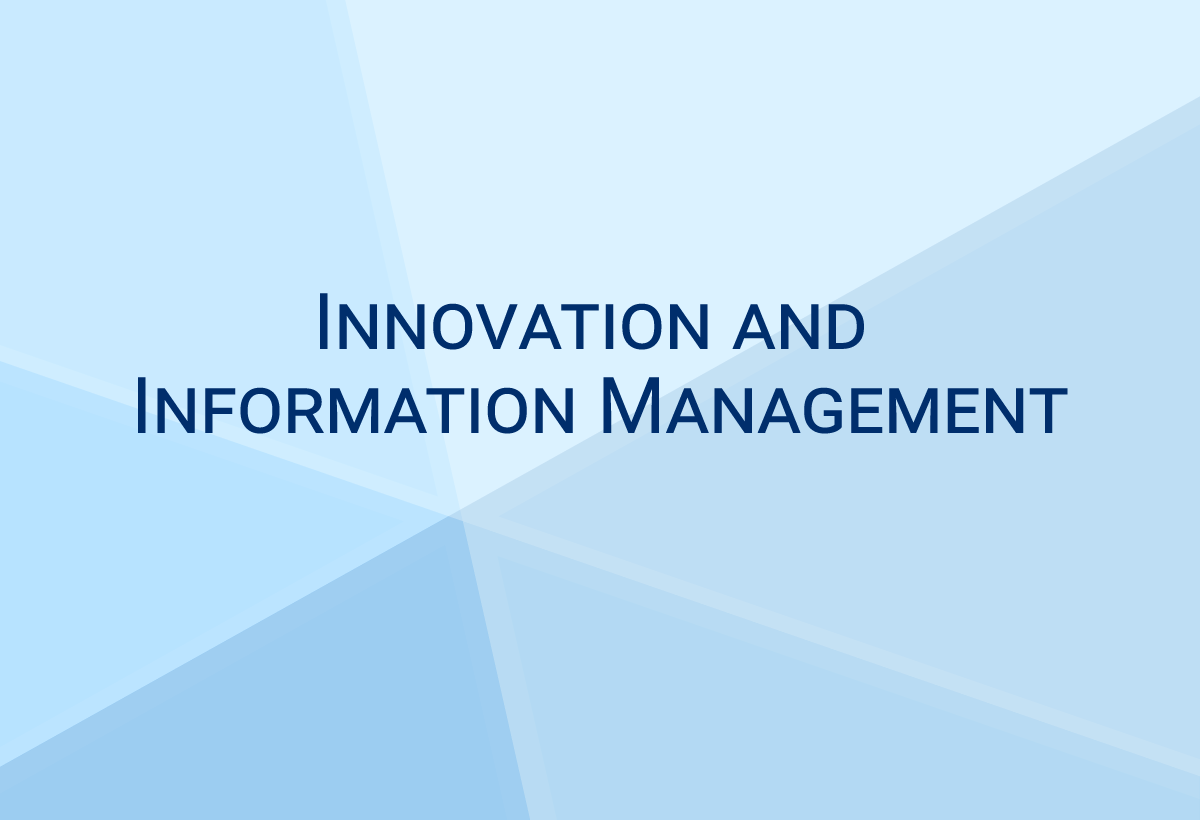 Innovation and Information Management