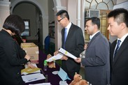 Image of BGS HKU Chapter Induction Ceremony 2013 2
