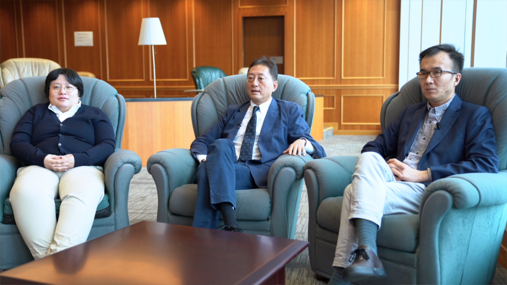 Professor James Kung, Dr. Chicheng Ma and Dr. Ting Chen