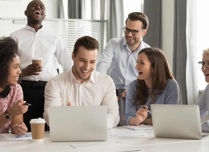 Finding the Cost of Friendships at Work