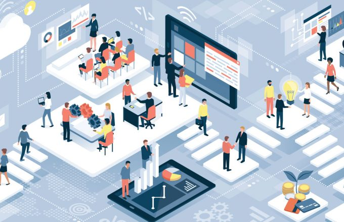 强大的数字平台商业模式